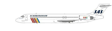 Scandinavian Airlines wurden der dritte Neukunde für die MD-87/Courtesy and Copyright: md80design