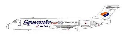 Spanair Link Boeing 717-200/Courtesy: MD-80.net