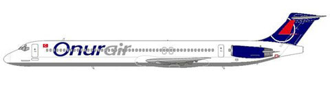 Onur Air MD-83 mit neuem Farbschema/Courtesy and Copyright: md80design
