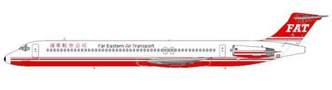 MD-83 mit späterem Farbschema/Courtesy and Copyright: md80design