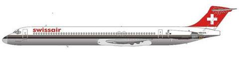 MD-81 mit neuem Heckkonus/Copyright: md80design