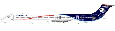 MD-88 im aktuellem Farbkleid. Keine MD-80 erhielt das hier zu sehende Schema/Courtesy and Copyright: md80design