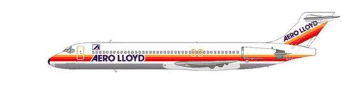 Vier MD-87 waren einst Bestandteil der Aero Lloyd-Flotte/Courtesy and Copyright: md80design