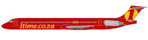 1Time MD-82 im aktuellen Farbschema/Courtesy and Copyright: md80design