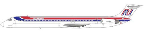 MD-81 in der an Iberia angelehnten Bemalung/Courtesy and Copyright: md80design