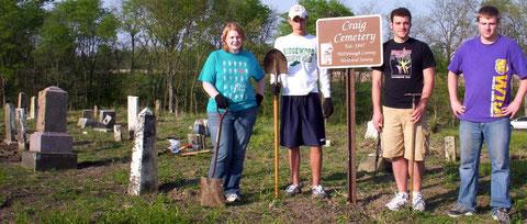 Lindsay Snetcher (left to right), Vlad Ivanyshyn, Corey Brown, Andrew Brown, WAVE volunteers.