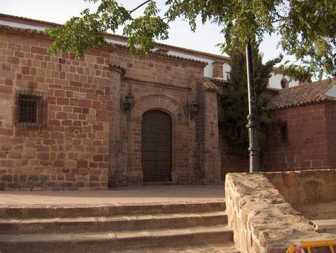 Puerta de la Iglesia de San Andrés atribuida a Hernán Ruiz II