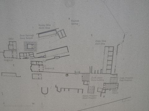 Lageplan von Labranda