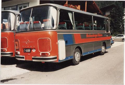 So wie die Zeiten war auch die zweite Busgeneration recht bunt.
