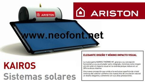 ARISTON KAIROS HF 150 200