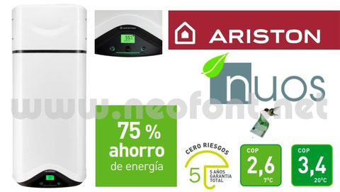ARISTON NUOS BOMBA DE CALOR