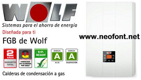 Calderas Wolf Alicante Fgb-k-28
