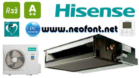HISENSE CONDUCTOS INVERTER R-32