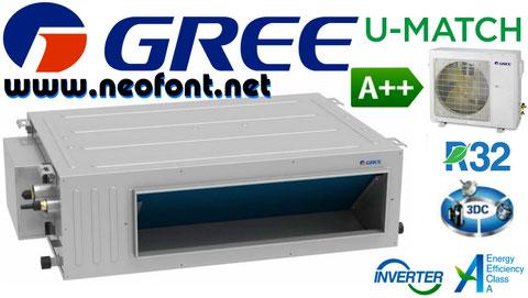 GREE CONDUCTOS U-MATCH UM CDT 18 24 30 36