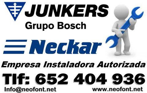 servicio tecnico Neckar Alicante