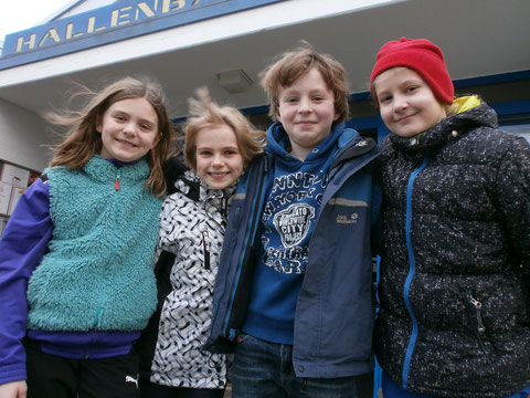 Lilli, Ylva, Toni und Emilia erfolgreich in Kamen