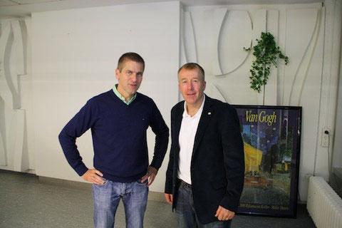 Dr. Michael Dickob und Dr. Christian Schürmann (Vorsitzender Talentis)