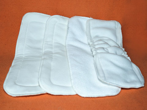 Hippybottomus Suisse Cloth Nappy Diaper inserts