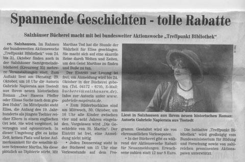 Wochenblatt Elbe Geest v. 23.10.2013