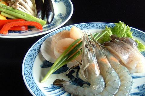 海鮮・焼野菜