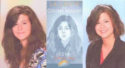 """Les deux derniers portraits """"scolaires"""" de l'original (2010 et 2011)"""