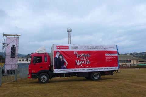 Gira Solidaria al Sur - Hombre de la Mancha en Concierto