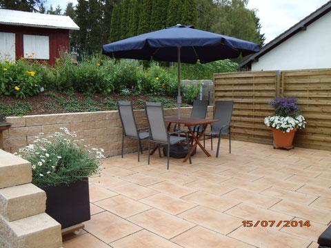 Terrasse für unsere Gäste, Fewo Rollmann-Dockter, Nohn