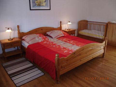 Fewo, Rollmann, Schlafzimmer 1 Etage, Waldstr.10, 54578 Nohn