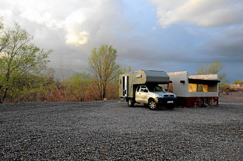 Unser Campingplatz in Albuquerque