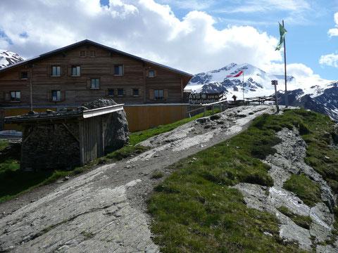 Marteller Hütte mit Zufallspitzen