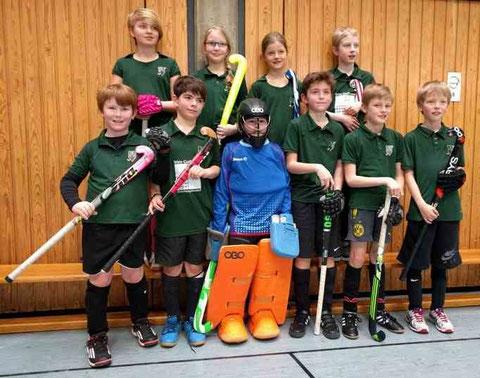 Team DHG Kinder-C: Sieger Ruhrbezirksrunde 2015/2016