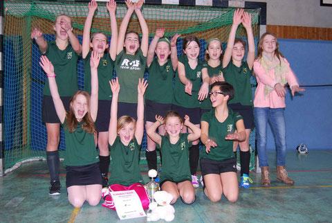 Westfalenpokalsieger Team DHG Mädchen-B