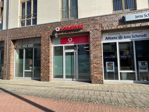 Die Sparkassenfiliale in Bremen-Kattenturm zieht in Frühjahr 2021 an die Alfred-Faust-Straße (Foto: 04-2021 Jens Schmidt)