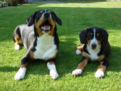Branca und Abbie (Mai '12)