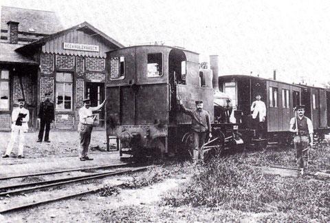 Lok 2 im Bf Heckholzhausen