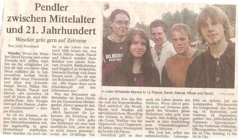 In der Borkener Zeitung ist 2010 dieser Artikel erschienen