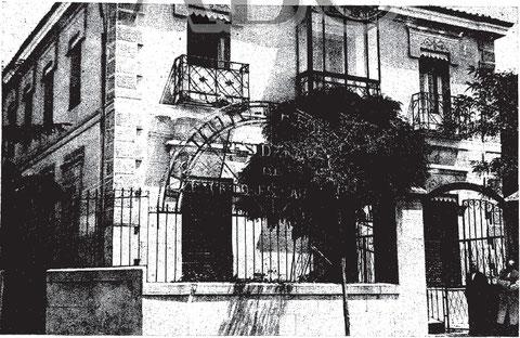 Instituto Cervantes en C/General Zabala. Foto ABC 15 de agosto de 1931