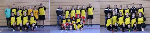 Kader B- und C-Mädchen der Saison 2013/14