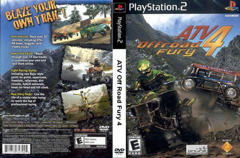 ATV OF ROAD FURY 4