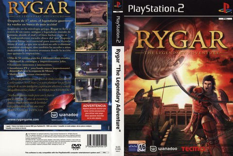 RYGAR THE LEGENDARY AVENTURE