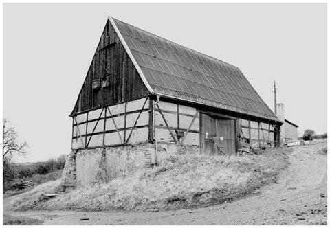 Die Scheune am Weinberg anno 1994