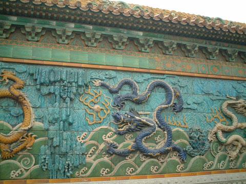 北京 紫禁城の龍
