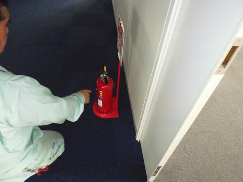 消防法令の基準による消防用設備等が設置
