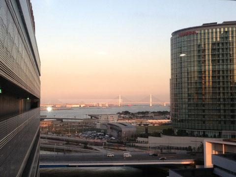 横浜スカイビルからの風景