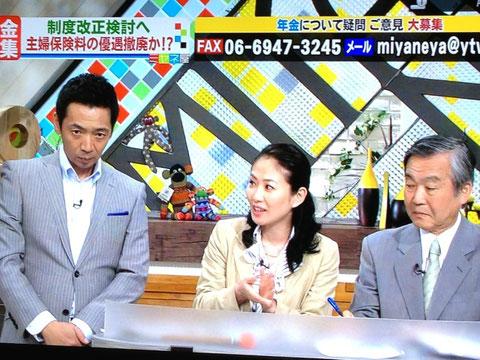 情報ライブ ミヤネ屋 2013年6月13日 年金特集第8弾