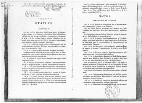 Bulletin de la Société de Recherches de la Nouvelle-Calédonie (N° 1, pages 8 et 9)