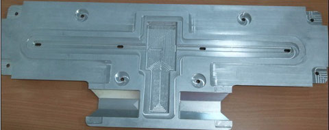CNC center precision machined parts,4axis-cnc machined parts,led finned heat sink, LED Deck Lighting Bracket