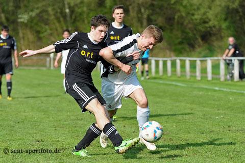 FC Hertha Hilkerode vs FC Lindenberg/Adelebsen (schwarz)
