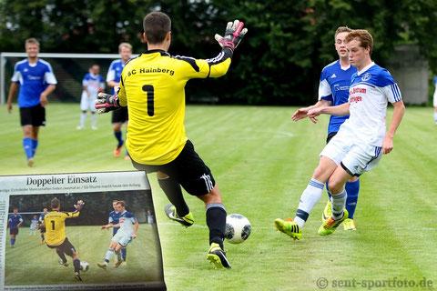 Spiltagsvorschau Kreisliga Eichsfelder Tageblatt TSV Seulingen vs SC Hainberg