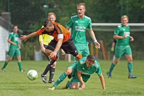 Krombacher Kreispokal SV Seeburg (grün) vs SG Rhume (1:3)